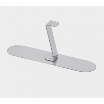 De Buyer Stainless Steel Obling Pusher for Pastry Rings - 14cmx3.2cm