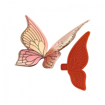 Showpeel Silicon Mold Large Butterfly Wings 300 x 270 mm - set of 2