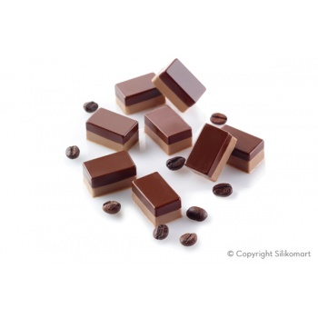 Silikomart Professional Silicone Mold Micro Stone 5 - Ø26 x 15 mm - 5 ml - 35 Cavity