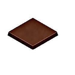Polycarbonate Chocolate Napolitain Plain Mold - 33x33x3 mm - 3x7 pc - 5gr - 275x135x24
