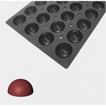 De Buyer MOUL FLEX PRO Silicone Molds - Hemispheres Molds - ø  7cm - 60cm x 40cm - 28 Cavity