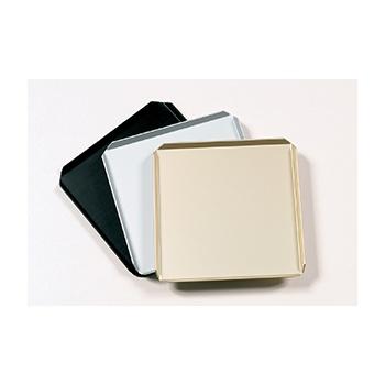 Black Square Plastic Display Tray for Chocolates - 170 x 170 mm