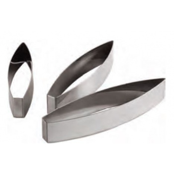 Stainless Steel Heavy Duty Leaf Cutter - 22.5 x 5 cm