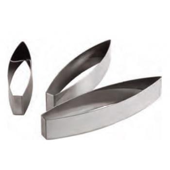 Stainless Steel Heavy Duty Leaf Cutter - 19 x 4.5 cm