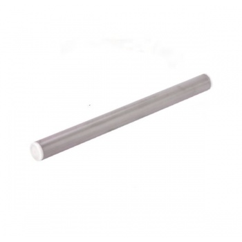 Stainless Steel Rolling Pin with Silicone Coating - 40 cm - ø 3.5 cm