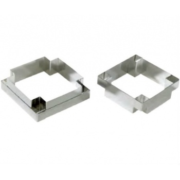 Stainless Steel Square Tart Cutter for 8.5 cm Square Tarts