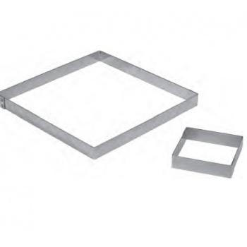 Stainless Steel Square Tart Ring 8.5 x 8.5 cm - 2 cm High