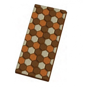 Thermoformed Plastic Chocolate Bars Molds - 5pcs
