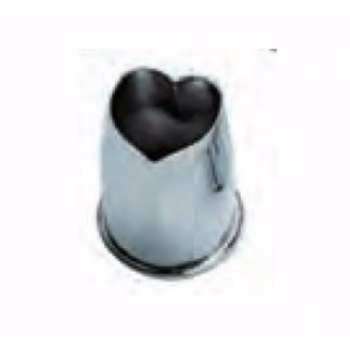Stainless Steel Mini Almond Paste Ganache Cutter - Heart 3 cm - High 6 cm