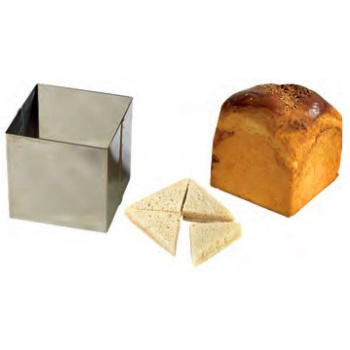 Stainless Steel Square High Ring for Pain Surprise - 16 x 16 x 14cm