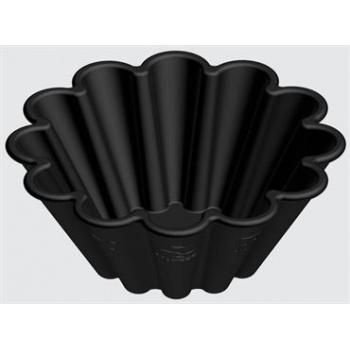 """Matfer Bourgeat Exoglass® Brioche Mold - H 1 1/10""""- Ø 2 3/4"""" - Pack of 24"""