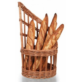 Matfer Bourgeat Wicker Basket For Bread - Diameter 11""