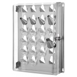Matfer Bourgeat Storage Rack for pastry Tips -Holds 24 Tips