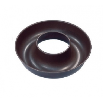 "Matfer Bourgeat Exopan® Steel Non-Stick Open Savarin Mold -  Ø 7 7/8"" x  1 2/3"" - 25 oz."