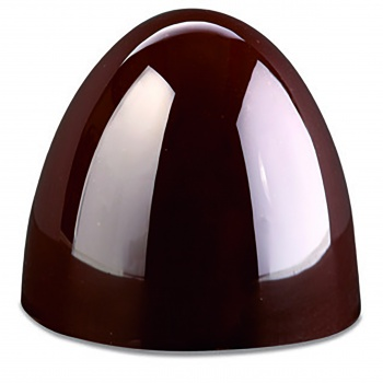 Pavoni Polycarbonate Chocolate Mold - HEART DESIGN by DAVID COMASCHI - 18Cavities  - 275mm x 135mm