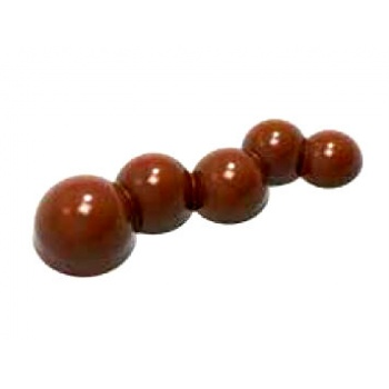 Polycarbonate Chocolate Mold Square 28x28x17.50 mm - 21 Cavity - 12.5gr - 275x135x24 mm