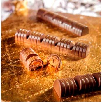 Polycarbonate Chocolate Mold Bars -82,50x22,50x6,50 mm -3x6 pc/8 gr -275x175x24mm