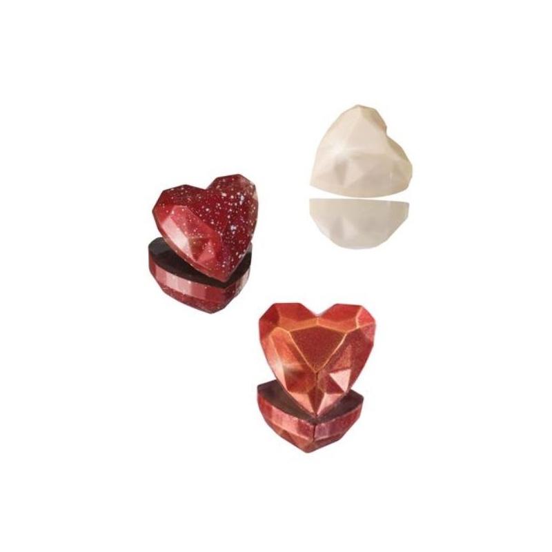 Diamond Heart Truffle