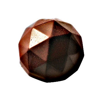 Cocoa Barry Polycarbonate Diamond Chocolate Mold 11gr - 7x4 Cavity