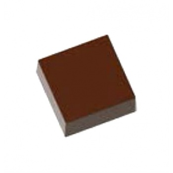 Magnetic Polycarbonate Chocolate Mold Square Bar - 30 x 30 x 11 mm - 3x5 pc - 11.50 gr - 275x135x24 mm