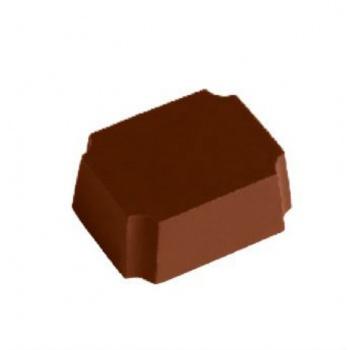 Magnetic Polycarbonate Chocolate Mold Rectangular Bar - 35x28x14 mm - 4x5 pc - 14 gr - 275x175x24 mm