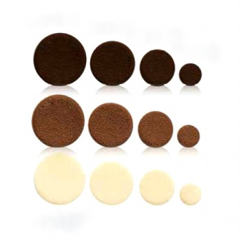 Belgian Chocolate Decoration Round Spots Assortments - 420 Pces  - 3 Sizes