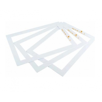 Plastic Biscuit Genoise Frame 600mm x 400mm x 3mm