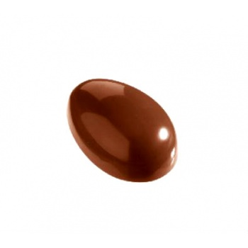 Polycarbonate E-Serie Special Chocolate Egg Mold 150x100x50 mm - 2 Half Eggs per mold - 175 x 275 mm