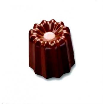 Polycarbonate Chocolate Mold Mini Canneles Ø 30 h 22 mm - 5x8 pc 9gr -275x175x26mm