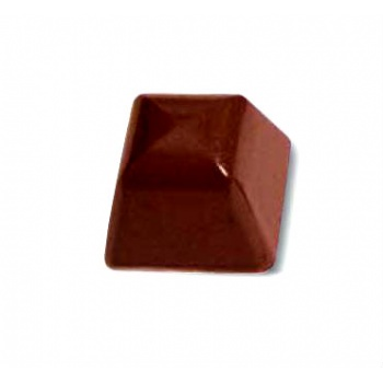 Polycarbonate Chocolate Mold Square 25x25x19mm - 4x8 Cavity - 11gr - 275x175 mm