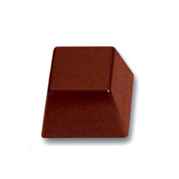 Polycarbonate Chocolate Mold Square 28x28x19mm - 3x8 Cavity - 13gr - 275x135 mm