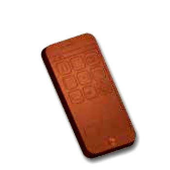 Polycarbonate Smartphone Chocolate Mold - 110x52x10mm - 4 Cavity - 63 gr - 275x135mm