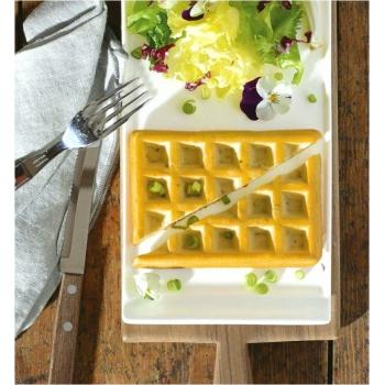 Sasa Demarle Flexipat Waffles 80 x 127 mm | Prof. Depth 15 mm | Vol. 100 ml - 8 Cavity