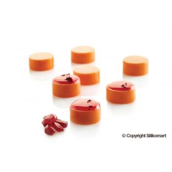 Silikomart Professional Silicone Mold Micro Round 5 -  Ø24 x 12 mm - 5 ml - 35 Cavity