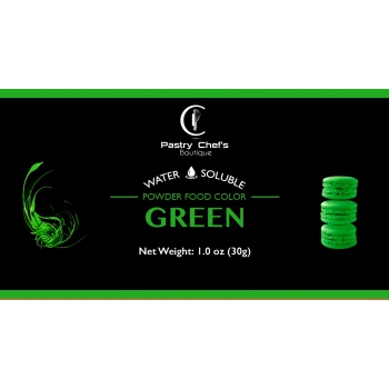 Water Soluble Color Powder - Green - 25gr