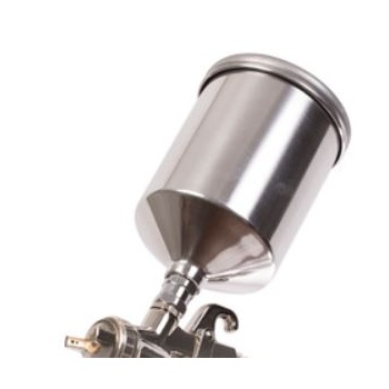 600cc Metal Cup with Lid FR Grex X4000.14 LVLP Spray Guns
