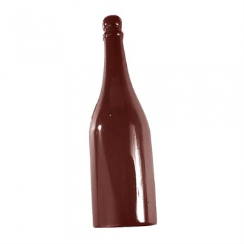 Polycarbonate Chocolate Champagne Bottle Single Mold - 310 mm x 87 mm