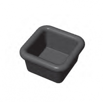 PAVONI Cookmatic Mini Square Tart Shells Plates 34 x 34 x 19 mm - 30 Cavity