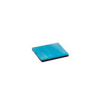 Chocolate Rubber Chablons Mat - Squares - 25 x 25 mm - 63 Indents