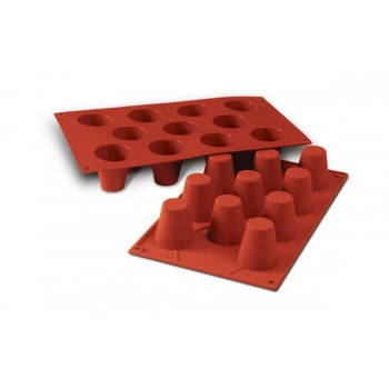 Silikonart Silicone Molds - Medium Babas - Ø45 x 48 mm - 50 ml - 11 Cavity