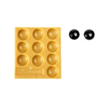 Silikomart Sugarflex Silicone Mold - Flat Hemisphere - ø 14 x 6 mm - 10 Cavity