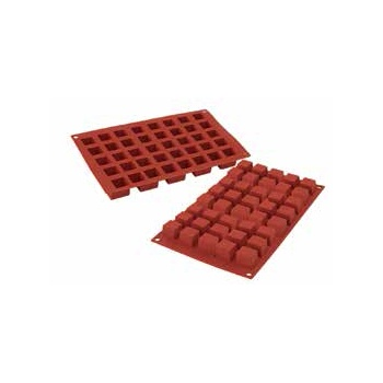 Silikomart Silicone Molds - Mini Cubes 24 x 24 x 24 mm - 13 ml - 40 Cavity