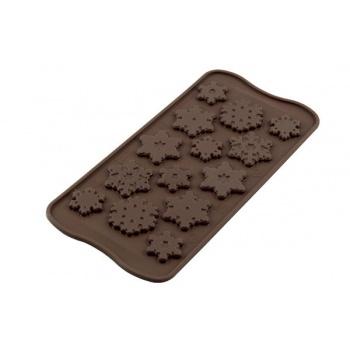 Silikomart Silicone Chocolate Molds - Snowflakes -