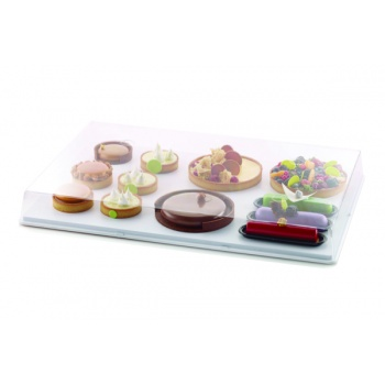 I-GLOO 8.5 - Polycarbonate Level Tray Cover 600 x 400 x 85 mm - Clear - Cover ONLY