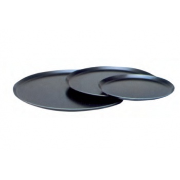 Round Blue Steel Pizza Baking Pans Ø 26 cm