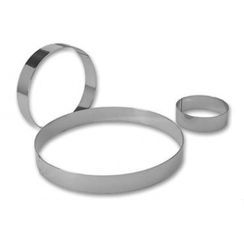 "Entremets Ring Ø 6 1/4"" - 1.38'' High (35mm)"