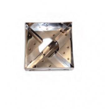 Stainless Steel Windmill Pastry Cutter - 10 x 10 cm