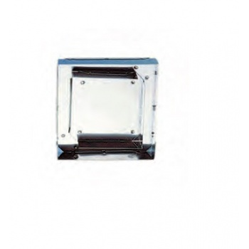 Stainless Steel Double Square Pastry Cutter - 11 x 11 cm