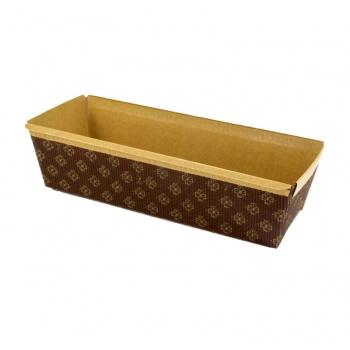 Novacart Paper Loaf Pans 9 1/4'' x 3 1/4'' x 2-3/4'' - 480pcs - PM238