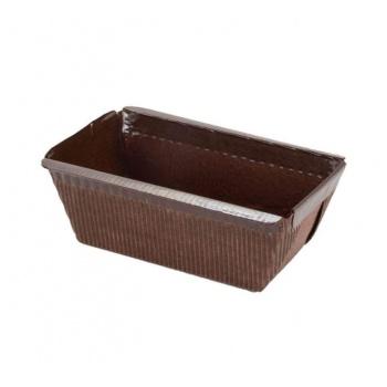 """Novacart Paper Loaf Pans Small 3-3/4"""" x 2"""" x 2"""" - PM95 - 1050 pcs"""